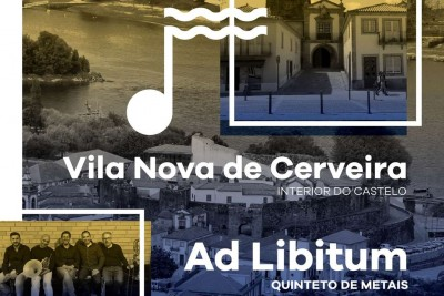 Concerto do Quinteto de Metais Ad Libitum no Castelo